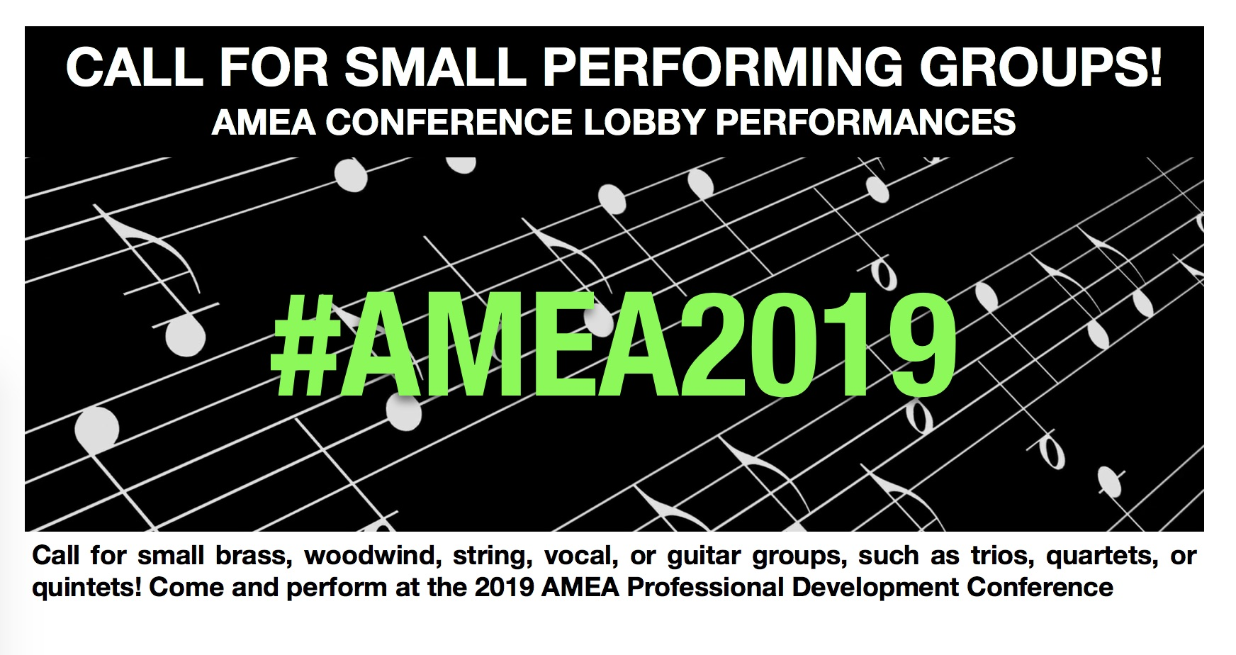 Applications Due: 2019 Lobby Performance Groups – Alabama Music